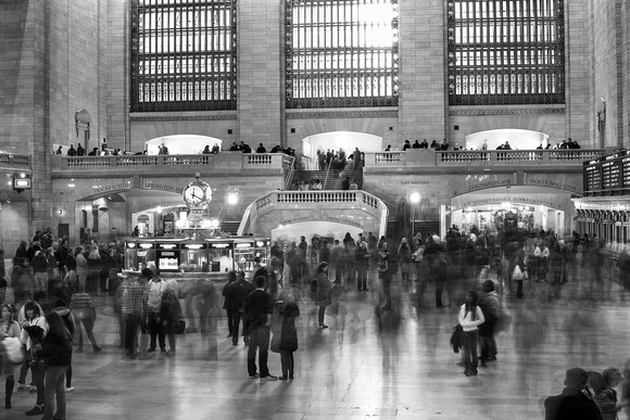 Grand Central Terminal Long Exposure